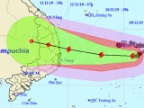 Dự báo thời tiết hôm nay 9/11: Bão số 6 sắp đổ bộ đất liền các tỉnh Trung Bộ