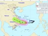 Tin bão số 6 mới nhất: Giật cấp 13, tiến gần bờ biển Quảng Ngãi - Khánh Hòa