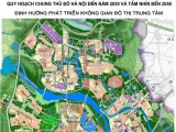 Thủ đô Hà Nội sẽ có 5 đô thị vệ tinh, 3 đô thị sinh thái