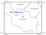 Thừa Thiên – Huế: Động đất trong đêm khiến người dân lo lắng