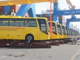 Bus Thaco thương hiệu Việt Nam xuất khẩu sang Philippines