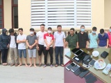 Thanh Hóa: Triệt xóa sới bạc chuyên nghiệp tại Thiệu Hóa, bắt giữ 15 đối tượng