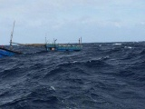 8 ngư dân Quảng Ngãi gặp nạn đã an toàn