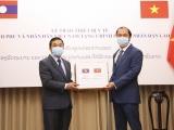 Việt Nam tiếp tục hỗ trợ Lào phòng chống dịch COVID-19