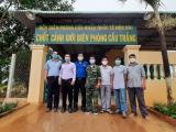 Hội Chuyên Gia Trí thức Việt Nam-Hàn Quốc (VKEIA) thăm hỏi và hỗ trợ Bộ đội Biên phòng và Công an tỉnh Tây Ninh phòng chống dịch Covid-19