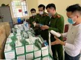 Hải Phòng: Tạm giữ 7.500 khẩu trang được vận chuyển trên xe cứu thương