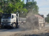 Bình Thuận: Quốc lộ 55 đang hàng ngày bị dày xéo bởi những đoàn 'xe vua'