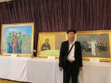 """Triển lãm """"Tháng Năm nhớ Bác"""" của họa sĩ Thái Hòa"""