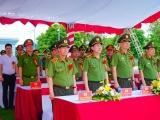 Công an tỉnh Nam Định khánh thành tượng đài Chủ tịch Hồ Chí Minh