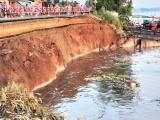 An Giang di dời khẩn cấp gần 30 hộ dân trong vùng sạt lở nguy hiểm