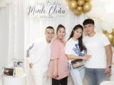 Hồng Vân, Lê Phương hội ngộ mừng sinh nhật nhà thiết kế Minh Châu