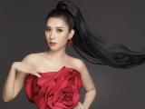 Dương Yến Nhung phá cách, tạo dáng 'chuẩn siêu mẫu' với trang phục đỏ ấn tượng
