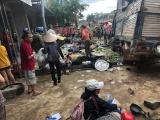 Tại nạn thảm khốc tại Đắk Nông: Xe tải lao vào chợ dân sinh, nhiều người thương vong