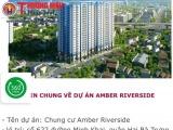 Dự án Amber Riverside chưa nghiệm thu PCCC đã cho dân vào ở, thách thức pháp luật?