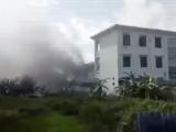 Hà Nội: Đám cháy bất ngờ bùng phát tại trường mầm non