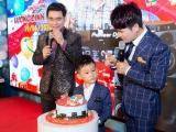 Lương Gia Huy tổ chức sinh nhật hoành tráng, bù đắp tình cảm cho con