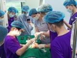 Phẫu thuật miễn phí khối u máu 'ăn' gần nửa khuôn mặt nữ công nhân nghèo