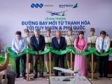 Bamboo Airways khai trương 3 đường bay mới kết nối Thanh Hóa – Quy Nhơn, Thanh Hóa – Phú Quốc, Vinh - Quy Nhơn