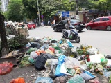 Bãi rác Nam Sơn bị chặn, Hà Nội ùn ứ rác thải