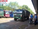 Thanh Hóa: Chỉ đạo nóng xử lý xe quá tải làm hư hỏng tuyến đê sông Chu