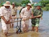Quảng Bình: Xử lý an toàn quả bom nặng 277 kg dưới sông Gianh
