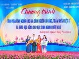 Tập đoàn Novaland tiếp sức học sinh, gia đình chính sách tỉnh Quảng Nam