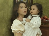 Trà Ngọc Hằng hạnh phúc cùng con gái đón sinh nhật 2 tuổi