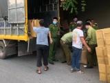 Hà Nội: Thu giữ 300 thùng khẩu trang không rõ nguồn gốc
