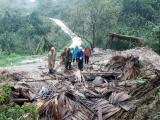Ảnh hưởng của bão số 2, mưa lớn kéo dài gây thiệt hại về người và tài sản