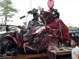 Hà Nội: TNGT kinh hoàng trên Quốc lộ 5 khiến 4 người thương vong