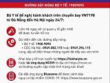 Nóng: Bộ Y tế thông báo khẩn tìm hành khách đi trên chuyến bay VN7198