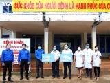 Thanh niên Đắk Lắk làm hàng ngàn mặt nạ chống giọt bắn phòng, chống dịch Covid-19