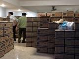 TPHCM: Đột kích 5 cơ sở, thu giữ hơn 4,3 triệu khẩu trang, găng tay có dấu hiệu kém chất lượng
