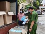 Thu giữ 75.000 khẩu trang y tế không rõ nguồn gốc