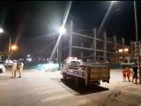 Sập giàn giáo công trình xây dựng tòa nhà Toyota Bắc Giang