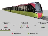 Đoàn tàu đầu tiên tuyến metro Nhổn-Ga Hà Nội sẽ về nước cuối ngày 24/10