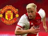 Van de Beek chính thức trở thành tân binh của Manchester United
