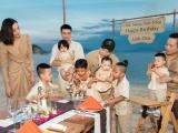 NTK Đỗ Mạnh Cường tặng hàng hiệu cho con gái nuôi trong tiệc sinh nhật