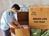 Quảng Ninh: Tạm giữ 12.500 chiếc khẩu trang không rõ nguồn gốc