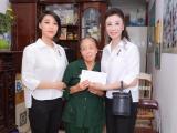 HH Doanh nhân thành đạt Vũ Thúy Nga cùng các con làm từ thiện