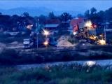 Bình Định: Các doanh nghiệp ngang nhiên khai thác cát xuyên đêm trên sông Kôn