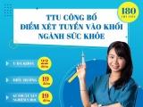 Nhiều trường công bố điểm sàn khối ngành sức khỏe