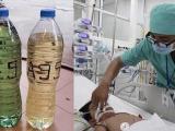 Thanh Hóa: Một bé gái 2 tuổi tử vong do uống nhầm xăng