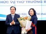 Bà Ngô Thị Minh trở thành tân Thứ trưởng Bộ GD&ĐT