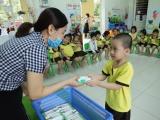 Nhiều tỉnh, thành phố triển khai chương trình Sữa học đường