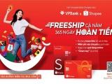 """Ra mắt """"Thẻ tín dụng VPBank Shopee"""" ưu đãi miễn phí vận chuyển và hoàn tiền đến 10% cả năm"""