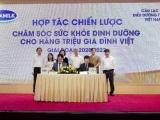 Vinamilk hợp tác với CLB điều dưỡng trưởng Việt Nam & tập đoàn CHR Hansen để chăm sóc sức khỏe cho trẻ em & người cao tuổi