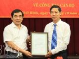 Thái Bình: Điều động, bổ nhiệm 2 cán bộ chủ chốt