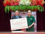Tập đoàn Hưng Thịnh trao tặng 10 tỷ đồng cho BTL Bộ đội Biên phòng chống dịch Covid-19