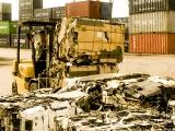 Đẩy nhanh tái xuất hàng container phế liệu rời khỏi các cảng biển Việt Nam